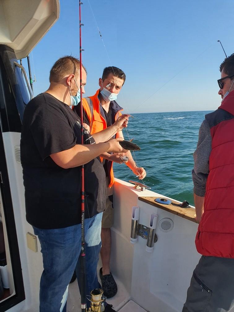 discution de pêche