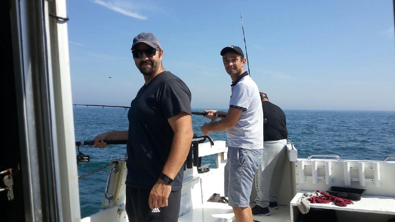 pêche entre copain