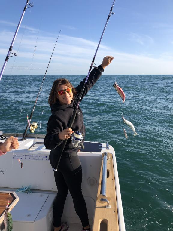 beau doublet d'une pêcheuse
