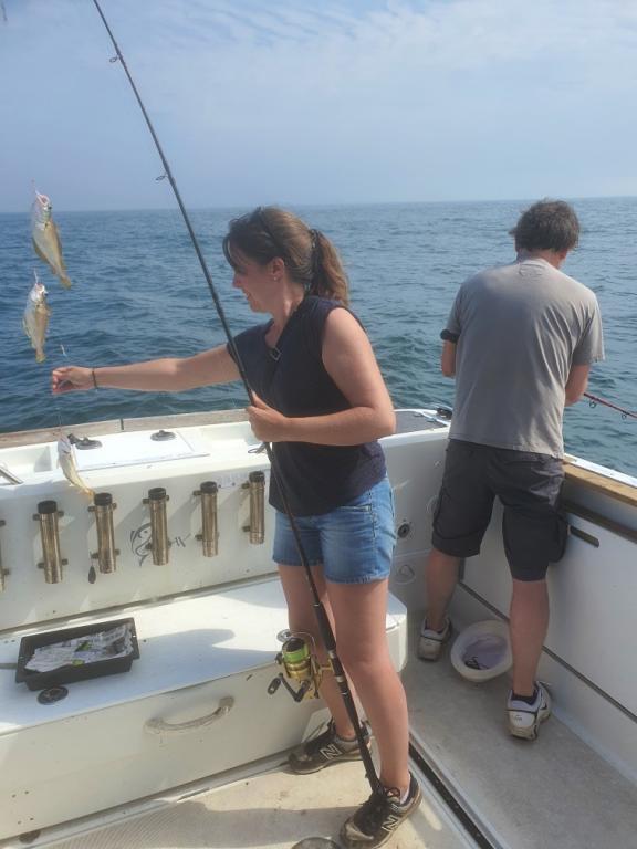 la pêche fémine