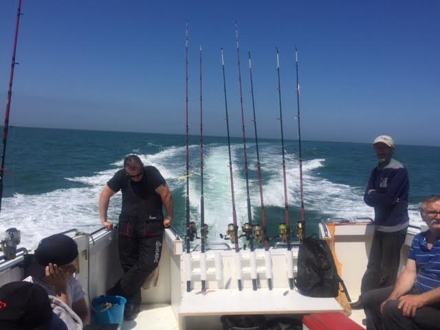 Arriere bateau association le loup de mer